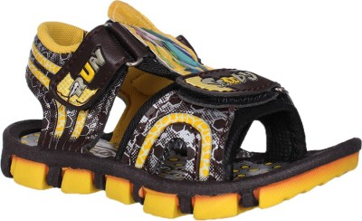 Kats Baby Boys Yellow Sandals