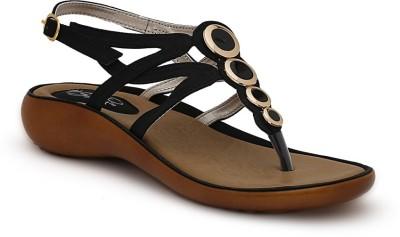 La Briza Women Black Flats