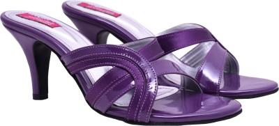 Femine Women Purple Heels