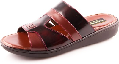 La Guardian Men Maroon Sandals