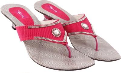 Vinayak Collection Women Pink Heels