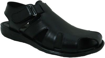 Senso Vegetarian Men Black Sandals