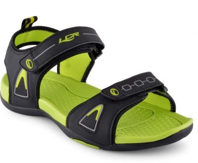 Lancer Men Black, Green Sandals