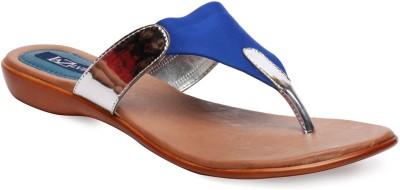 La Zilver Women Blue Flats