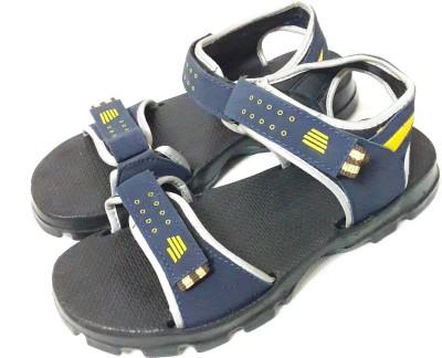 FashionDeck Men Blue, Black Sandals
