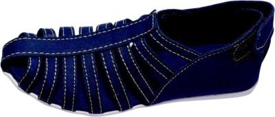 Reyes Reales Women Blue Flats