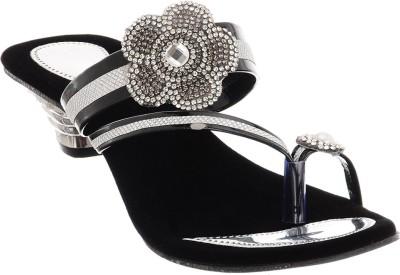 Brandvilla Women Black Heels