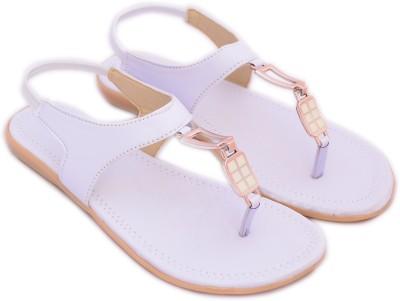 Myra Women White Flats