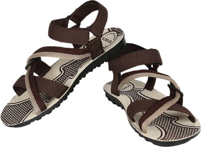Super Matteress Grey-845 Men Grey, Brown Sandals