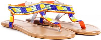 Lavie Women Orange Flats