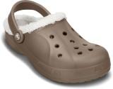 Crocs Men Walnut/Oatmeal Sandals