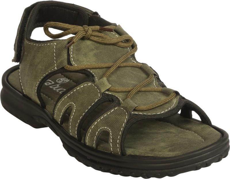 Bacca Bucci Men Olive Sandals