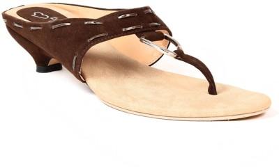 Lyc Women Brown Heels