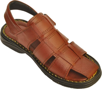 ASKFNA Men Brown Flats
