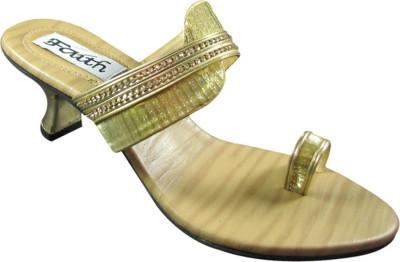 Faith 1000845 Women Gold Heels