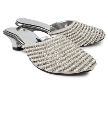 Spectrum Women Silver Heels