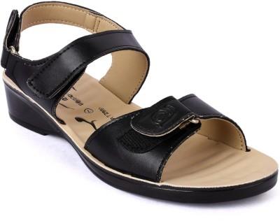 Action Shoes Women Black Flats