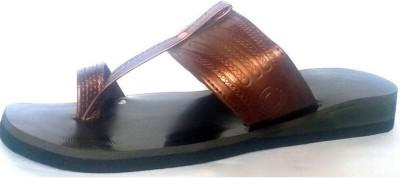 Shoozix Men Brown Sandals