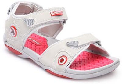 Wave Walk Men Red, White Sandals