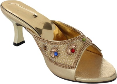 Bare Soles Women Multicolor Heels