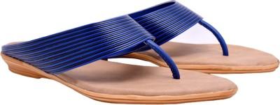 Femine Women Blue Flats