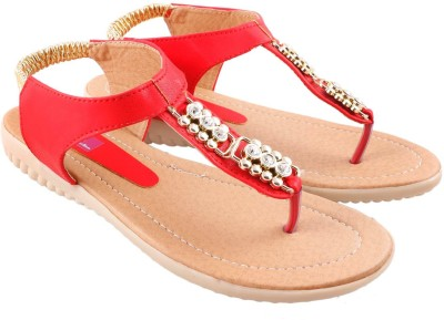 Vinayak Collection Women Red Flats