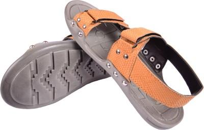 babatoes Boys, Men Tan Sandals