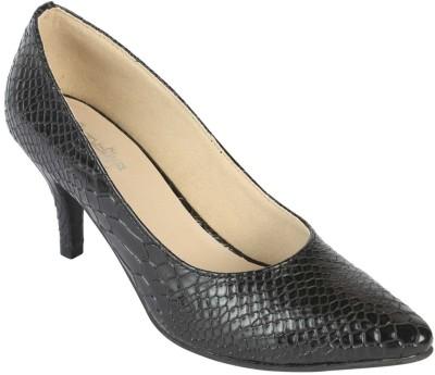 Charu- Diva Design Studio Women Black Heels