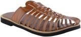 Little India Men Brown Sandals