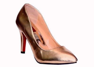 Credos Women Gold Heels