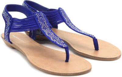 Madden Girl Teager Women Blue Flats
