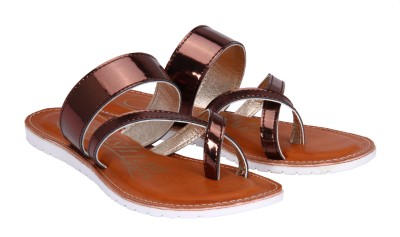 Fashion Mafia Women Brown Flats