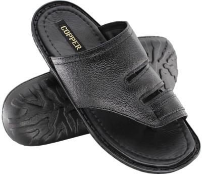 Copper C-8327 Men Black Sandals