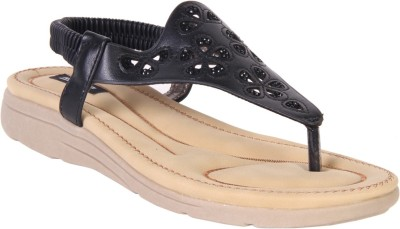 karizma shoes Women Black Flats