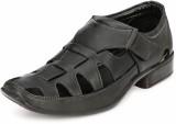 ElPaso Men Black Sandals