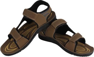 Vivaan Footwear Brown-833 Men Brown Sandals