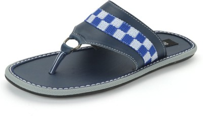 Nawaabs STEP8104 Men Blue Flats