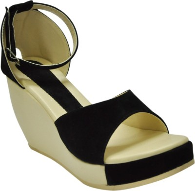 Select GSB_1802_Black Women Black Wedges