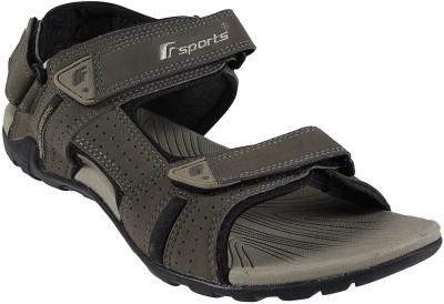 F Sports Men Green Sandals
