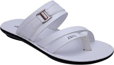 Airfax Men White Sandals
