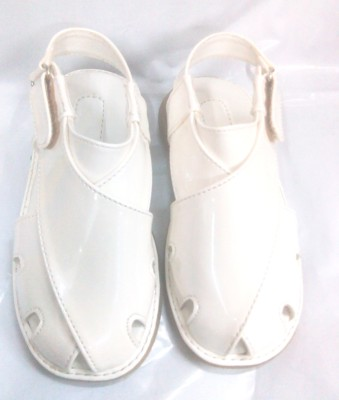 BAMBINI Baby Boys White Sandals