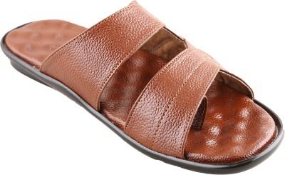 New V K Exports Men Tan Sandals