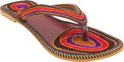 Royal Collection Women Maroon Flats