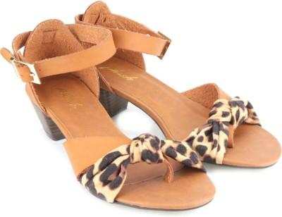Plosh Women Brown Heels