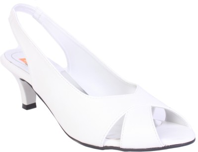 Tycoon Women White Heels