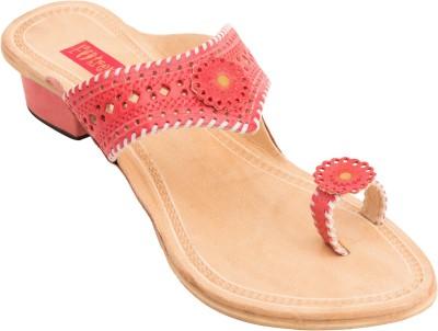 Footrendz Women Pink Heels