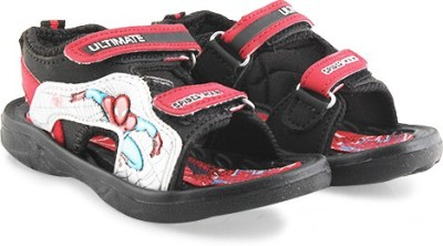 Spiderman Boys Red Sandals