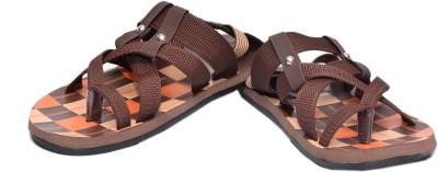 Guardian Men Brown, Orange Sandals