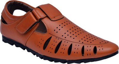 Sir Corbett Men Tan Sandals
