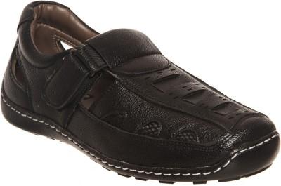 Bruno Manetti Men Black Sandals